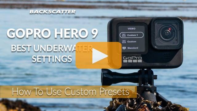 GoPro Hero 9 Best Underwater Settings | How To Use Custom Presets