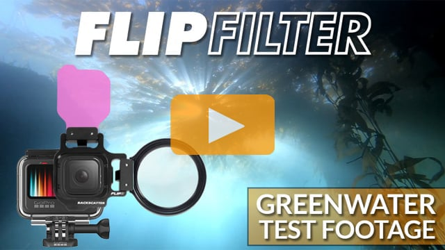 GoPro with FLIP FIlters | Greenwater Filter Test Footage