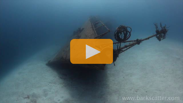 The Tibbetts Wreck - Canon 5Dmk II Underwater Video