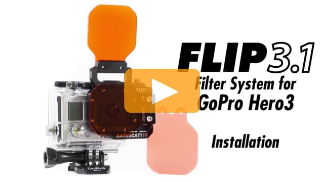 Product Tutorial: Installing the Flip3.1 underwater color correction filter system for GoPro Hero3