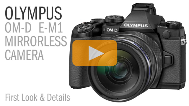Olympus OM-D E-M1 Micro 4:3 Mirrorless Camera Review - First Look and Details