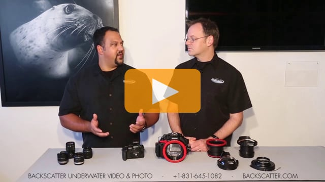 Olympus PT-EP11 Underwater Housing For the Olympus OM-D E-M1 Camera - First Look and Details
