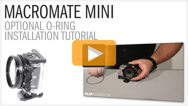 MacroMate Mini O-Ring Installation Tutorial Video