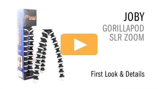 Joby Gorillapod SLR Zoom - First Look & Details