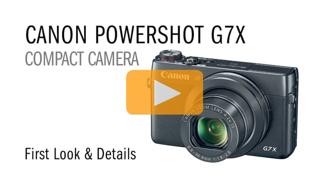 Canon Powershot G7X Compact Camera First Look for Underwater Photography