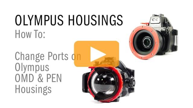 Backscatter How-To: Change Ports on Olympus OMD & PEN Housings