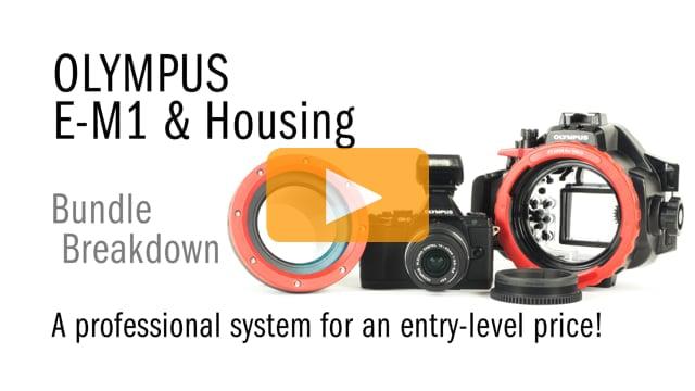 Olympus OMD E-M1 & Underwater Housing Bundle Breakdown