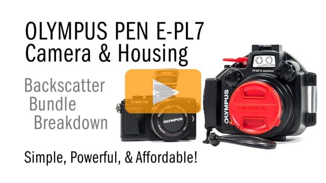 Olympus PEN E-PL7 & Underwater Housing Bundle Breakdown