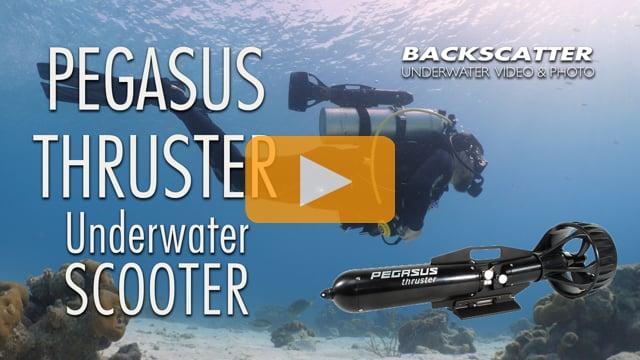 Pegasus Thruster Underwater Scooter - Video Test