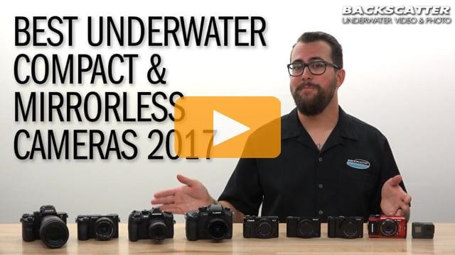 Best Underwater Compact & Mirrorless Cameras of 2017