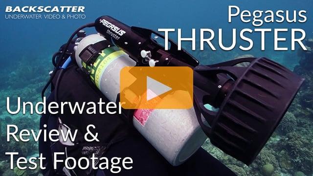 Pegasus Thruster Underwater Review 2018 - Test Footage