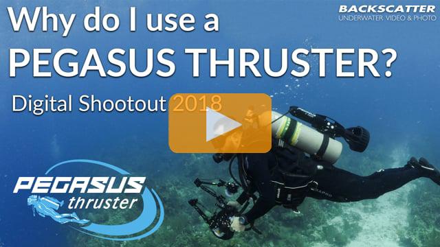 Why do I use a Pegasus Thruster? - Digital Shootout 2018