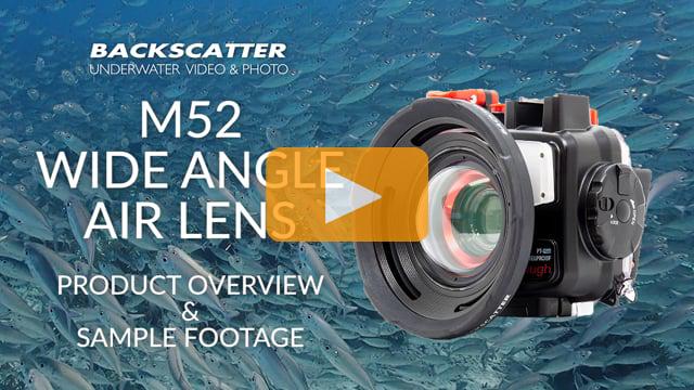 Best Olympus TG-5 Underwater Lens - Backscatter M52 Wide Angle Air Lens Review