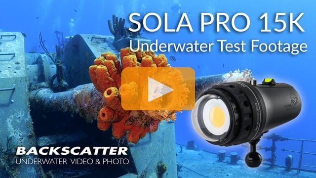 Light & Motion Sola Pro 15K | Underwater Test Footage | Little Cayman 2019
