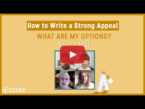 How to Write a Strong Appeal