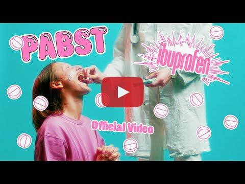 Pabst Ibuprofen video on YouTube