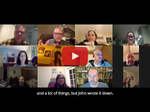 Online Christian Writers Group - EPISODE 1: WHY WRITE? (Recorded Live on January 15, 2020)