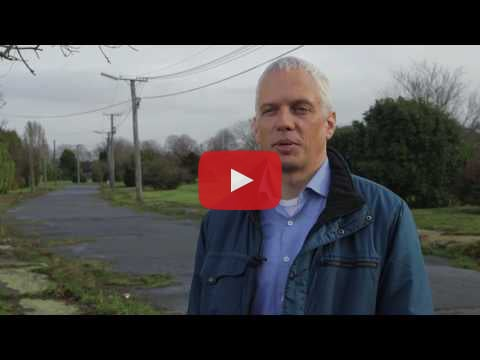 Video of US designer Ryan Gravel in the red zone