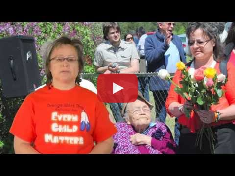 Orange Shirt Day is an annual event held each September 30th in remembrance of the Canadian Residential School system and the impact of this government policy on First Nations. Phyllis Webstad presents her memories of Residential schools and the meaning of Orange Shirt Day.