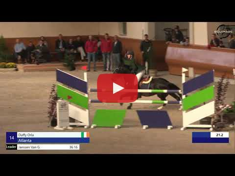 Orla Duffy showjumping video