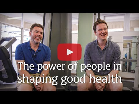 The power of people in shaping good health.