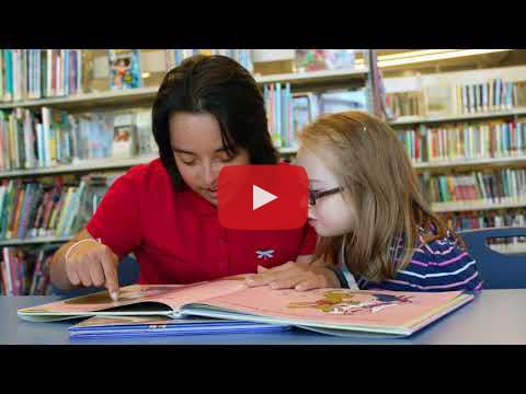 Video of young woman with Down syndrome talking about the value of inclusion and post-secondary education.