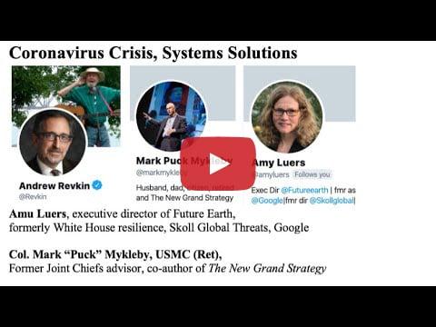 Coronavirus Crisis, Systems Solutions