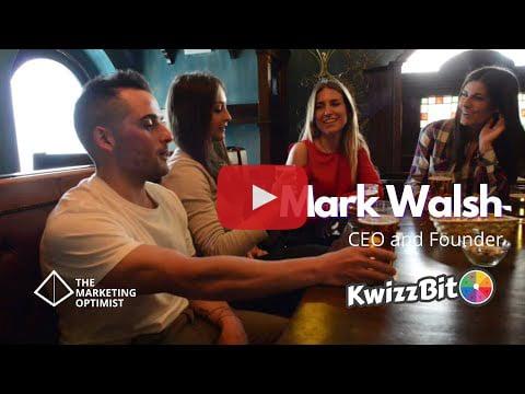 Mark Walsh founder of Kwizzbit – Video