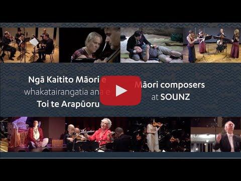 Māori music at SOUNZ