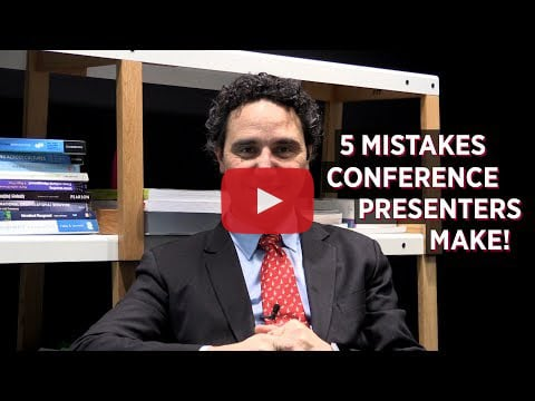 5 Mistakes Conference Presenters Make!