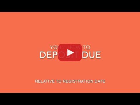 Deposit Due Video