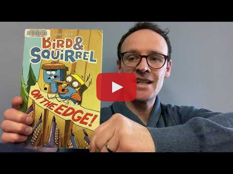 Children's Librarian, Ben, sharing some new graphic novels for younger kids.