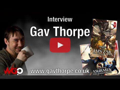 Gav video with WargamerOnline