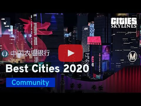 Cities Skylines Best of 2020 YouTube Video