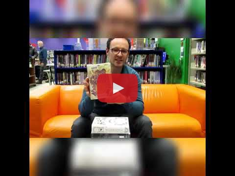 """Ben Robinson, children's librarian, shares the best """"big"""" books (over 500 pages long) to keep you reading all week long!"""