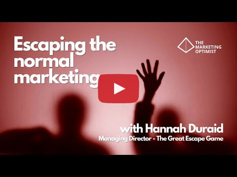Escaping the normal marketing