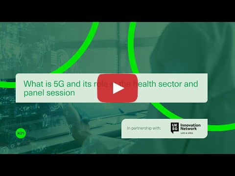 Video: What is 5G and its role in the health sector and panel session