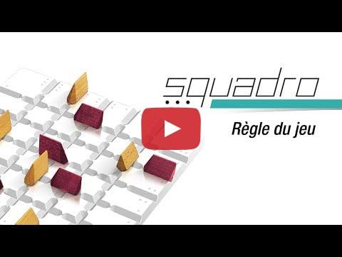 Squadro - règle du jeu