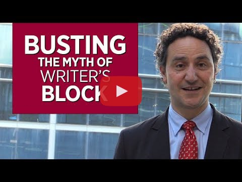 Busting the Myth of Writer's Block