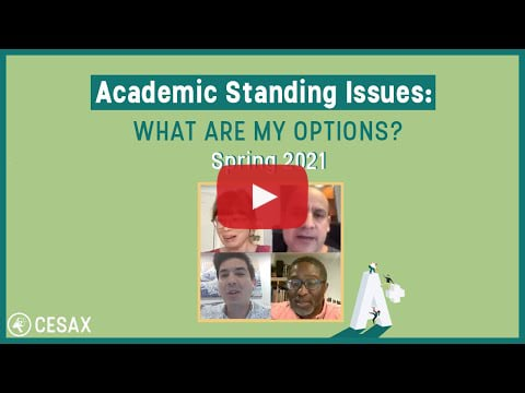 Academic Standing Issues