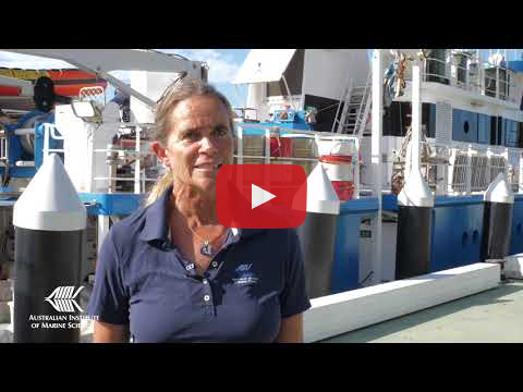 Scientists speak about the RV Solander expedition to the far northern Great Barrier Reef