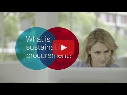 Sustainable Procurement Education - Training