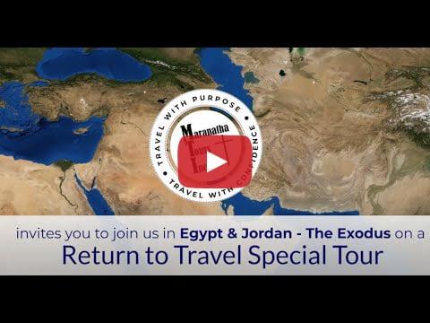 Egypt & Exodus Tour Video