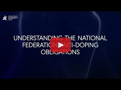 National Federation Anti Doping Obligations Rule 15 Video