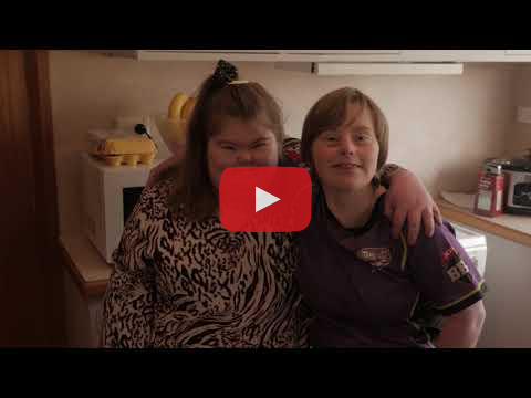 Video about Megan and Alicia, who have become great mates and great housemates..