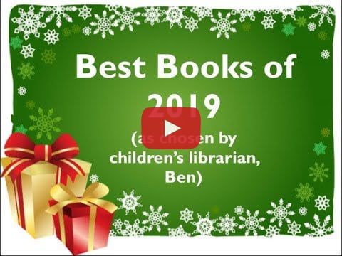 'Tis the season! Guelph Public Library Children's Librarian, Ben, is back again sharing some of his favourite children's books of 2019!