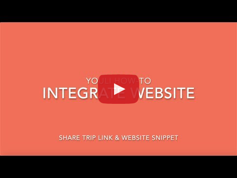 Integrate with Website