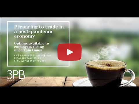 Adapting to post pandemic trading conditionswebinar