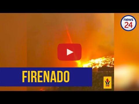 Firenado in George, South Africa