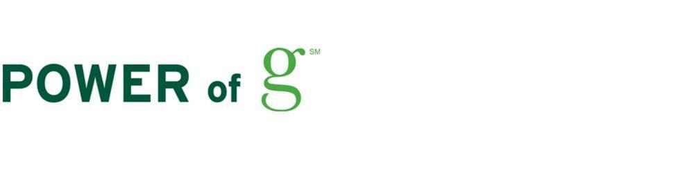POWER of g = true sustainability